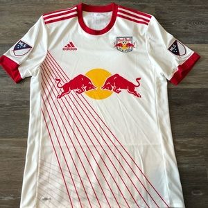 New York Red Bull's Adidas Home Jersey